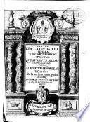 Santos de la ciudad de Seuilla y su Arçobispado, fiestas que su santa iglesia metropolitana celebra...