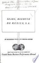 Sears, Roebuck de México, S. A.