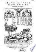 Segunda parte de los Anales de la Corona de Aragon