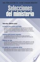 Selecciones del ministerio, t. 2, núm. 5