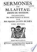 Sermones de M. Lafitau, obispo de Sisteron