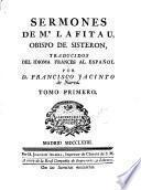 Sermones de Mr. Lafitau... Obspo de Sisteron, 1-2