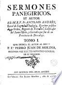 Sermones panegíricos, 1