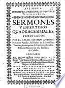 Sermones vespertinos quadragesimales