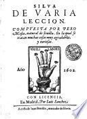 SILVA DE VARIA LECCION