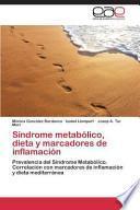 Síndrome metabólico, dieta y marcadores de inflamación