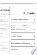Síntesis informativa económica y financiera