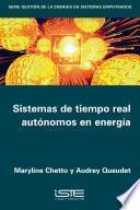 Sistemas de tiempo real autónomos en energía