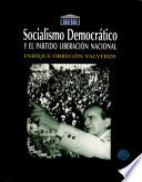 Socialismo democrático y el Partido Liberación Nacional