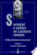 Sociedad y cultura en Lusitania romana