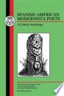 Spanish American Modernista Poets