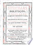 Stromas politicos y morales