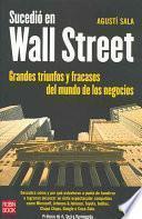 Sucedió en Wall Street