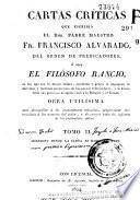 Suplemento a las XLVII cartas del Filósofo rancio