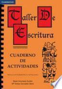 Taller de escritura: Cuaderno de actividades