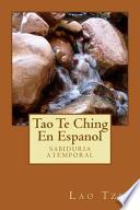 Tao Te Ching En Espanol