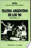Teatro argentino de los '90