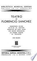 Teatro de Florencio Sánchez