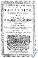 Teatro Monastico De La Provincia Tarraconense