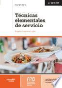Técnicas elementales de servicio 2.ª edición 2019