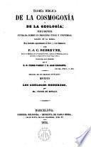 Teoría bíblica de la Cosmogonía y de la Geología...