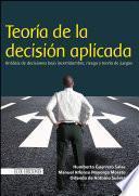 Teoría de la decisión aplicada