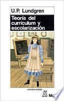 Teoría del curriculum y escolarización