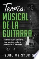 Teoría musical de la guitarra
