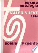 Tercera antología del Taller Nueve