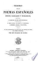 Tesoro de los poemas españoles épicos, sagrados y burlescos