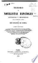 Tesoro de novelistas españoles antiguos y modernos: t. 3