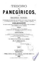 Tesoro de panegíricos