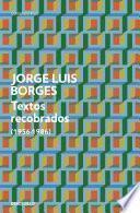 Textos recobrados (1956-1986)