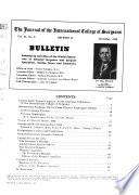 The Journal of the International College of Surgeons