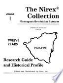 The Nirex Collection: Research guide and historical profile