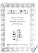 Tira de Tepechpan: Estudio del códice