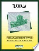 Tlaxcala. Conteo de Población y Vivienda, 1995. Resultados definitivos. Tabulados básicos