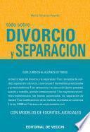 Todo sobre divorcio y separación