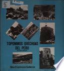Toponimia quechua del Perú