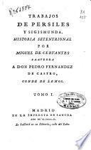 Trabajos de Persiles y Sigismunda: (XVI, 394 p., [4] h. de lám.)