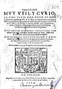 Tractado muy vtil y curioso para saber bien rezar el officio romano que diuulgo Pio V ...