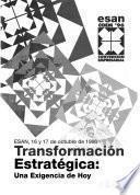 Transformación estratégica