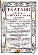 Tratado breve contra la secta mahometana
