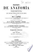 Tratado de anatomia descriptiva con figuras intercaladas en el texto