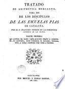 Tratado de aritmética mercantil para uso de los disipulos de las Escuelas Pais de Cataluña