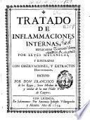 Tratado de inflammaciones [sic] internas