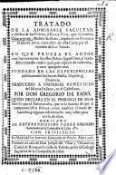Tratado de la admirable facultad y efectos de los polvos, ò elixir vitæ, que G. Chiaramonte imprimio en Florencia el año de 1620 ... Traducido ... por Don Gregorio de Rado, quien declara en el prologo ... lo que el autor oculta, que es la materia de que se componen estos polvos, etc
