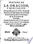 Tratado de la oracion y meditacion