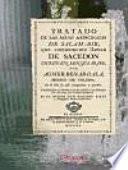 Tratado de las aguas de Salam-Bir, que comúnmente llaman Sacedón