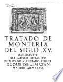 Tratado de monteria del siglo XV.